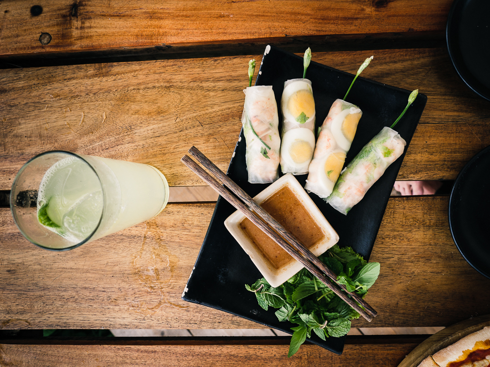 Phu Quoc - Seafood Spring Rolls
