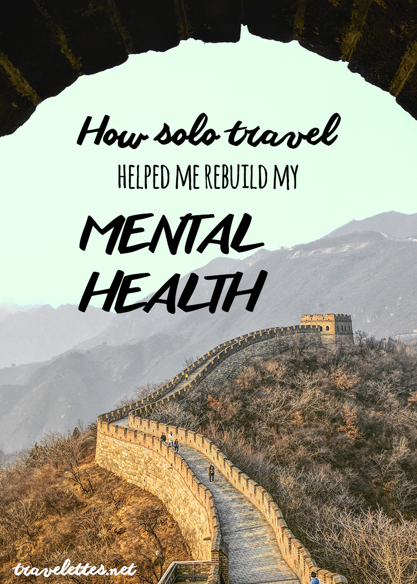 I've made many bold decisions when it has come to improving my mental health, but non so bold as choosing to travel to China, to trek the Great Wall!