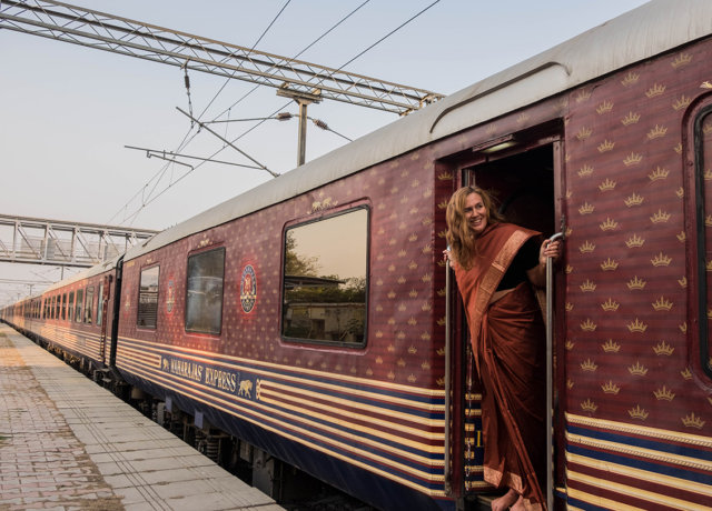 A Journey on the Maharajas Express, India