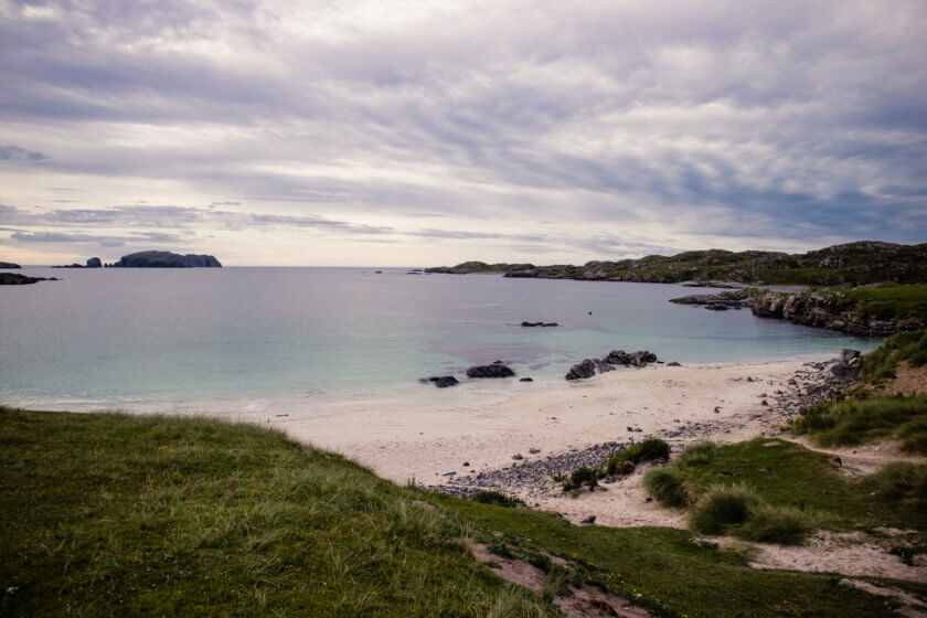 Bosta Beach on the Isle of Bernera