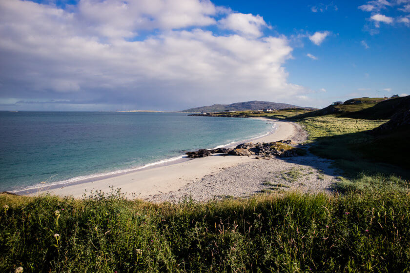 The beach of Eriskay.
