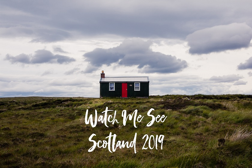 2019 Scotland photo calendar by travel blogger Watch Me See aka Kathi Kamleitner.