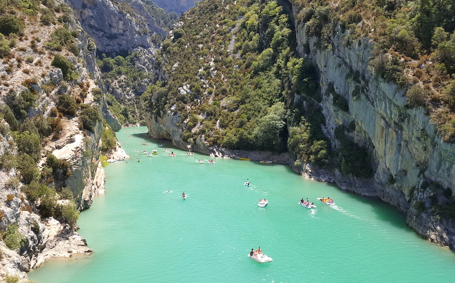 Verdon Gorge in France