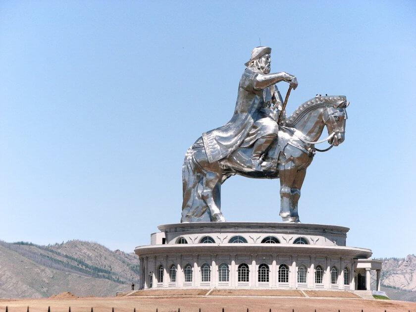 genqhis Khan monument mongolia
