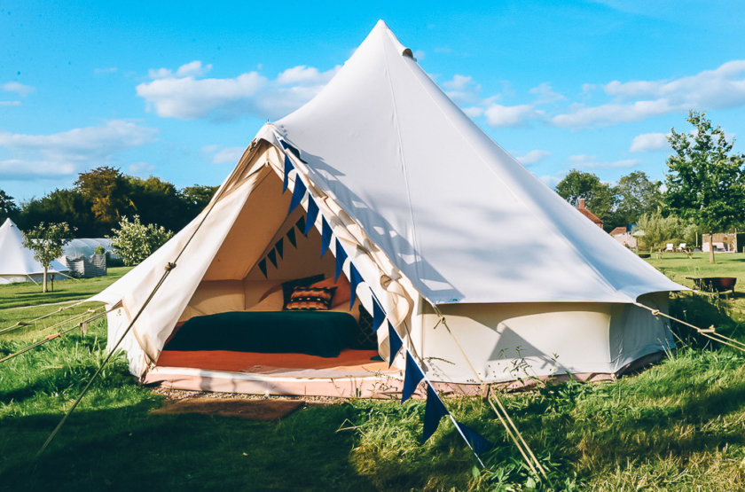 Fall in Love with this Glampsite Just an Hour from London!