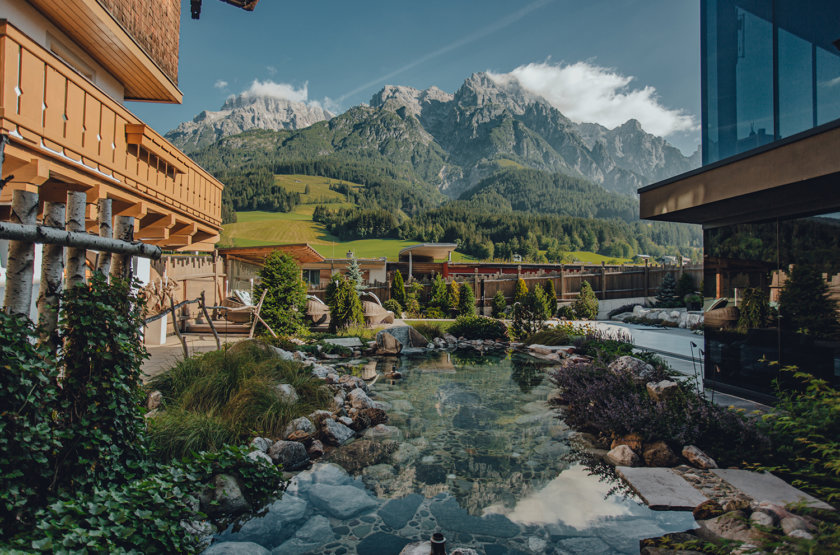 A magical family escape in the mountains of Salzburger Land in Austria
