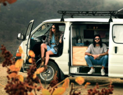 A home on wheels: Meet the Cypriot van-travelling couple