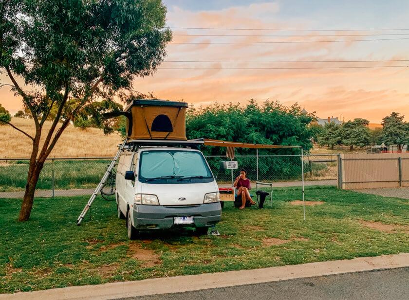 home converted van in australia